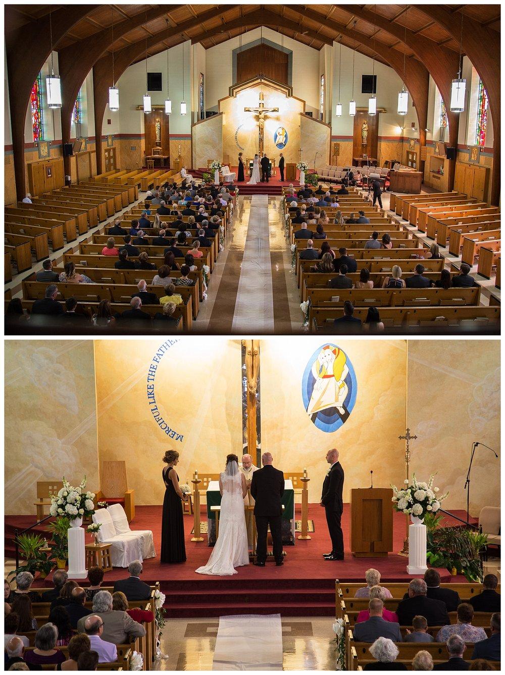 Weirton, WV Catholic Ceremony