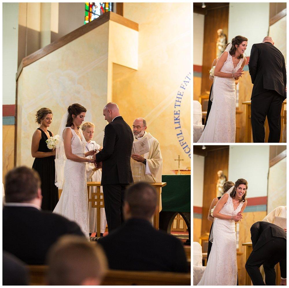 Weirton, WV Catholic Wedding Mass