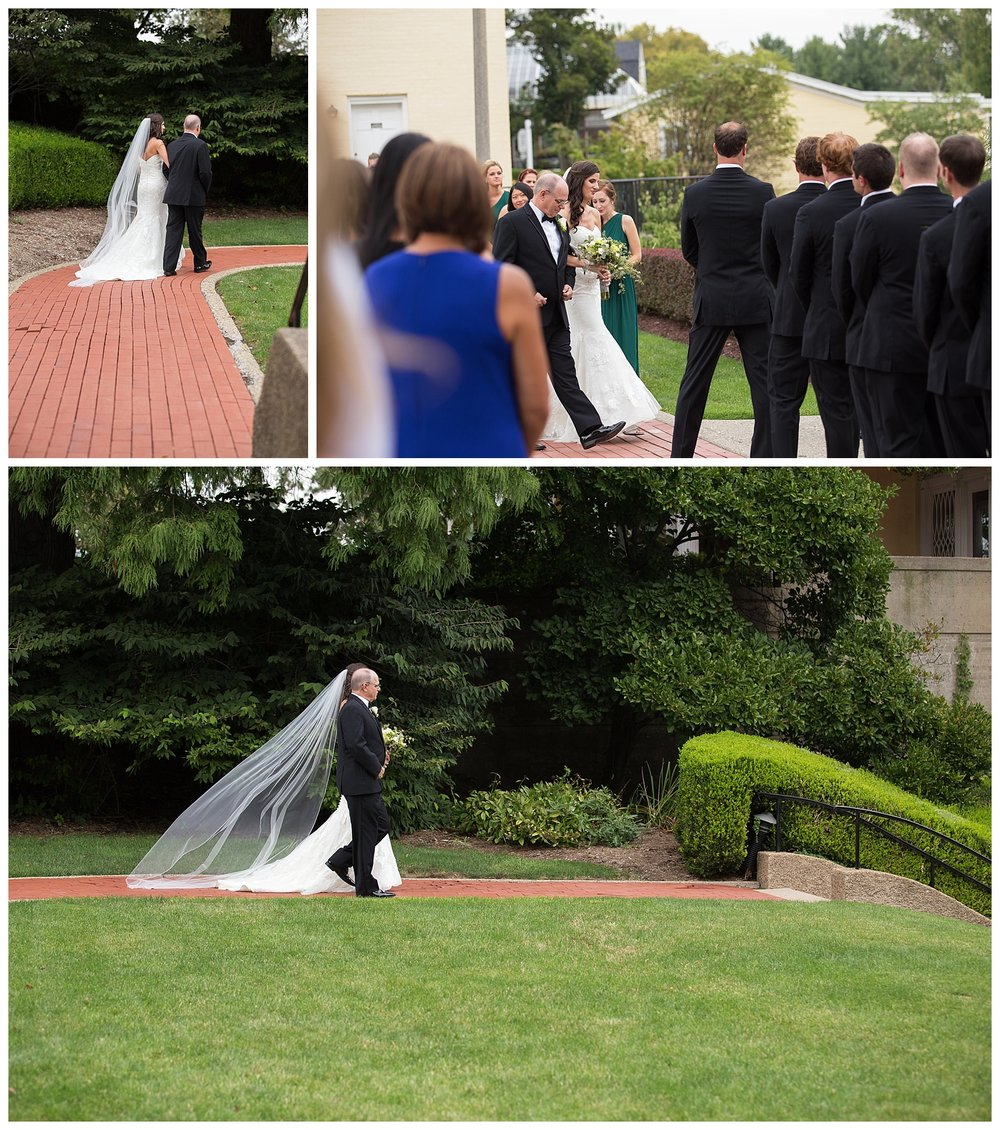 Oglebay Wedding Ceremony Formal Gardens