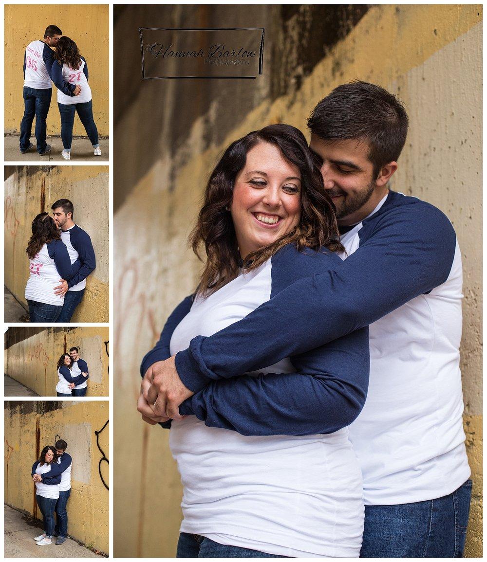 Clemente Bridge Engagement Pictures
