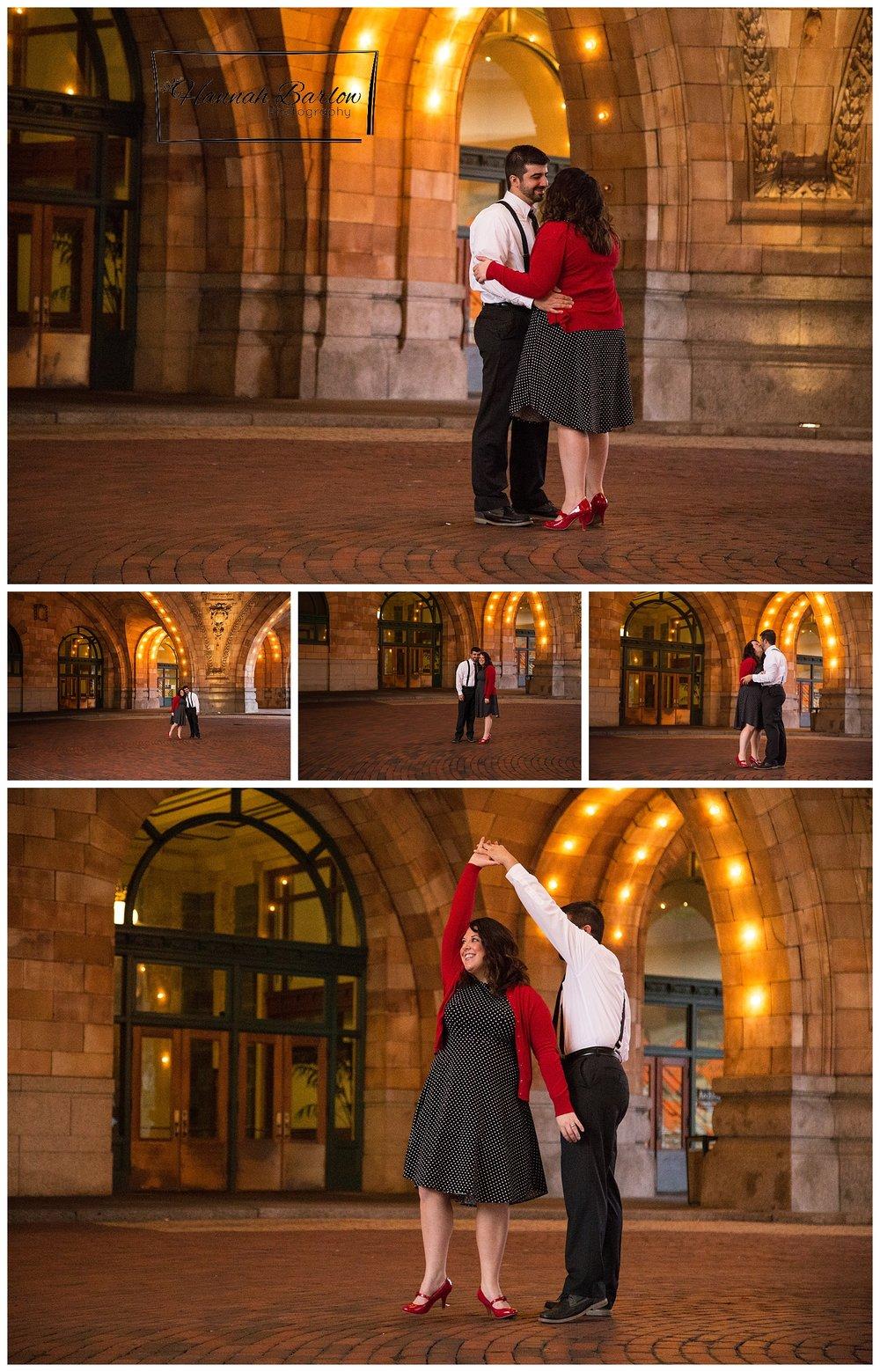 Penn Station Engagement Photos Pittsburgh, PA