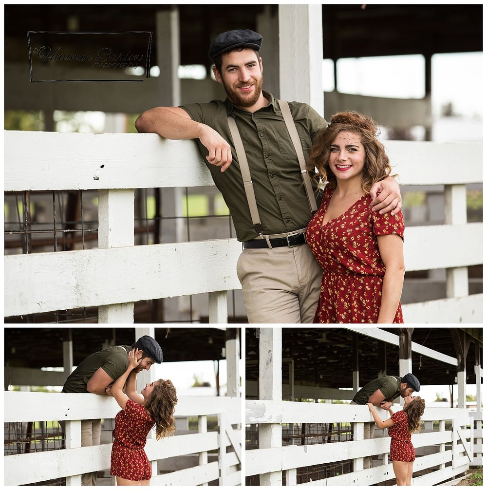 Notebook Inspired Engagement Photos - Friendship Park OH