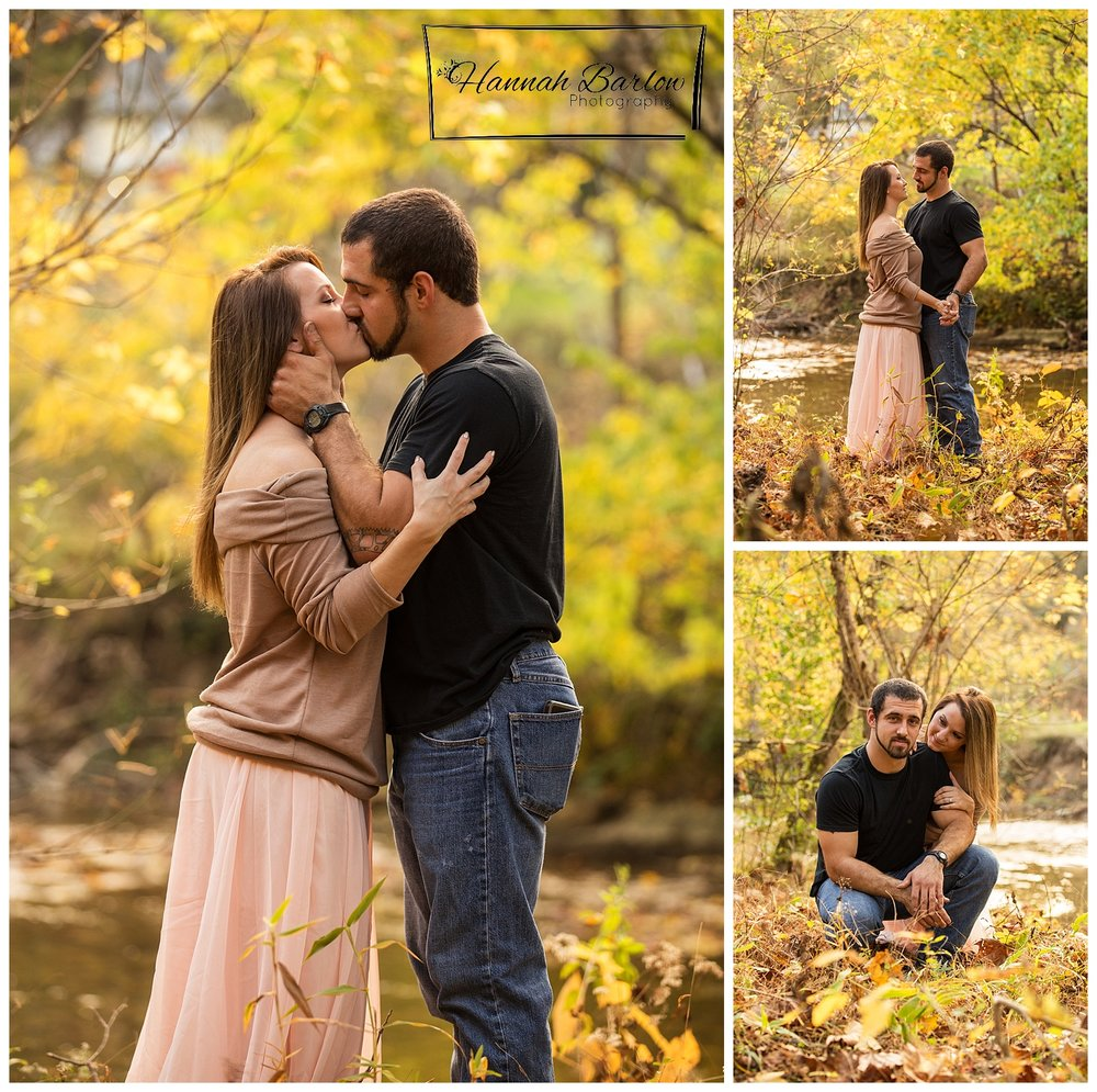 Fall Engagement Pictures in Barton, OH