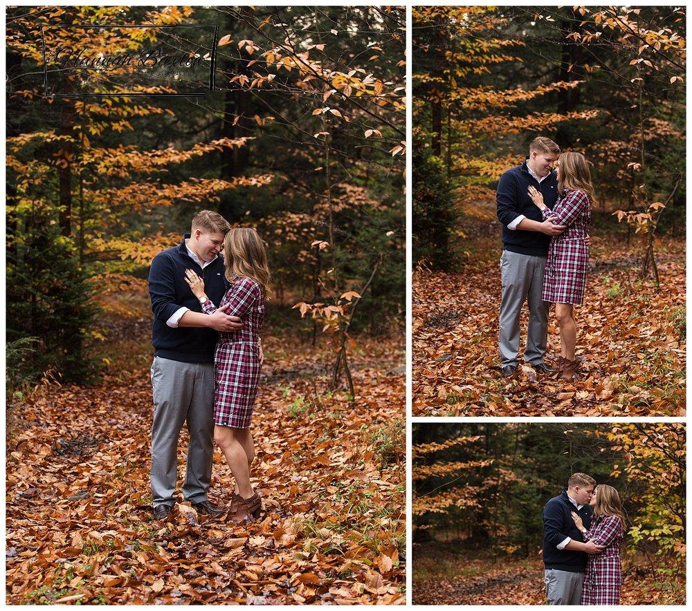 Windber PA Engagement Shoot Fall Photos