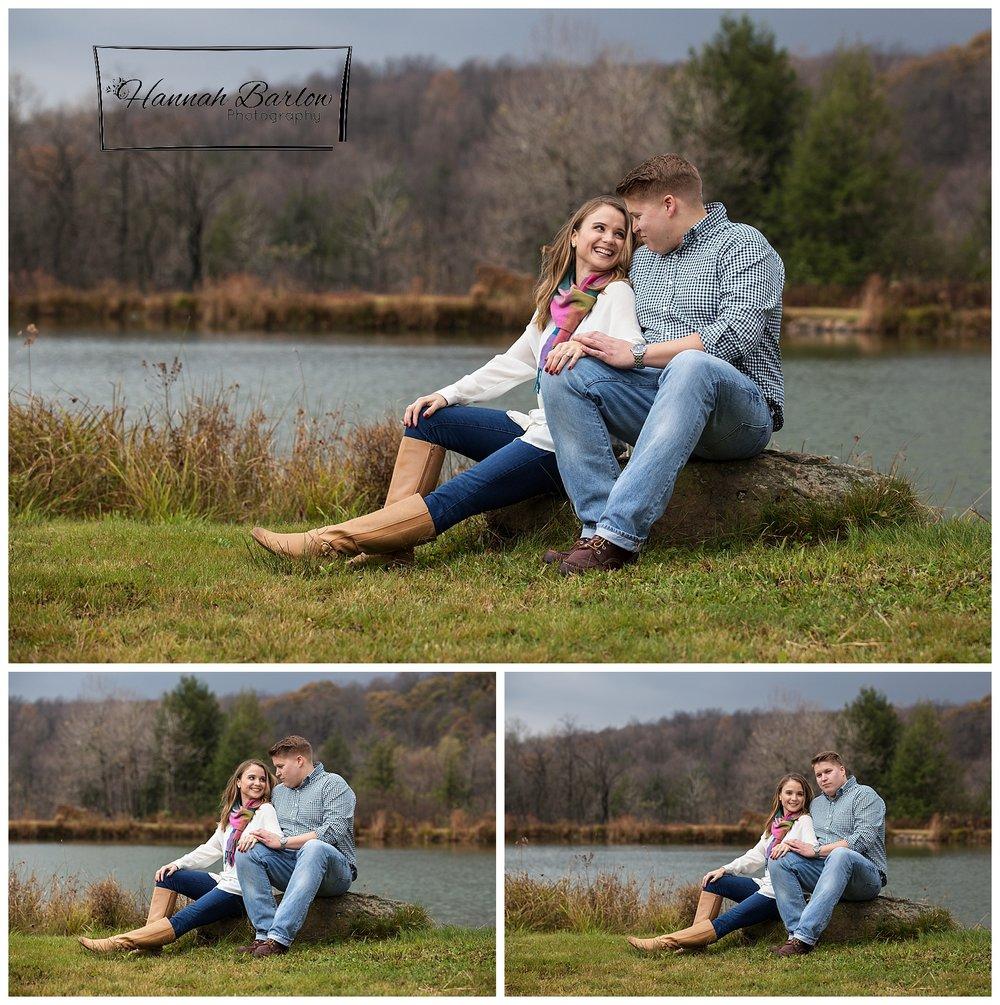 Windber PA Engagement Shoot Lake