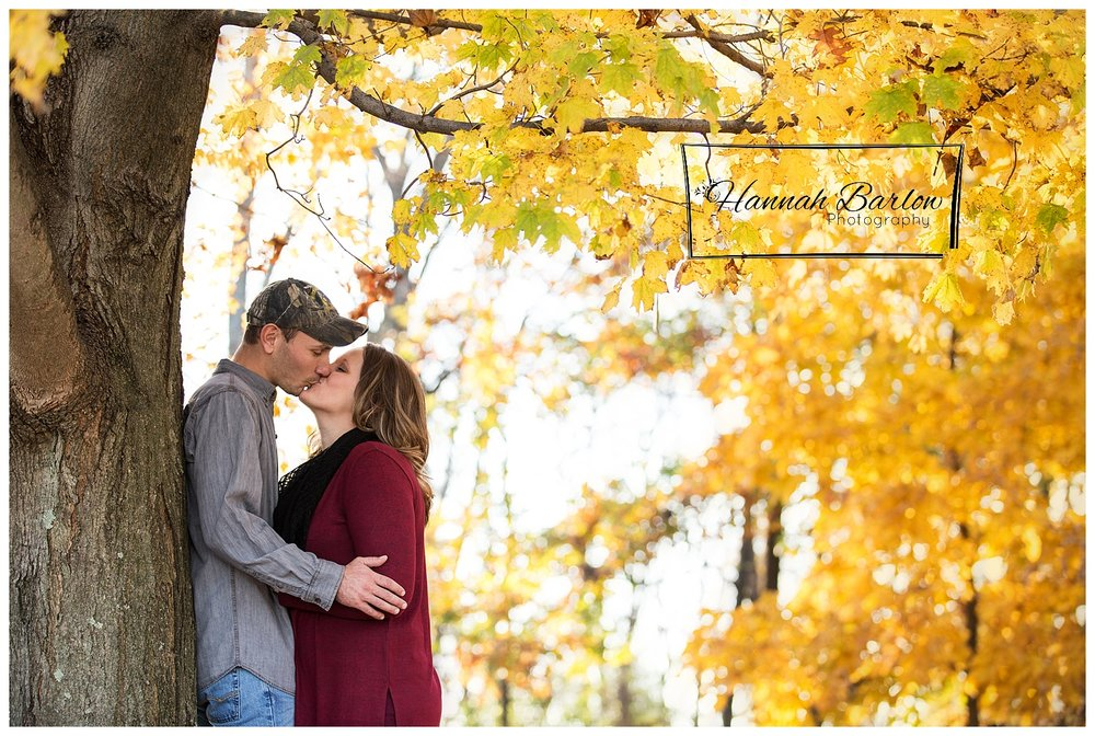 Fall Engagement Session Valley Grove, WV