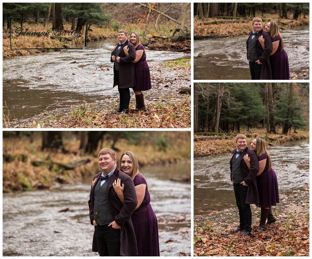 Tomlinson Run State Park Fall Engagement Photos