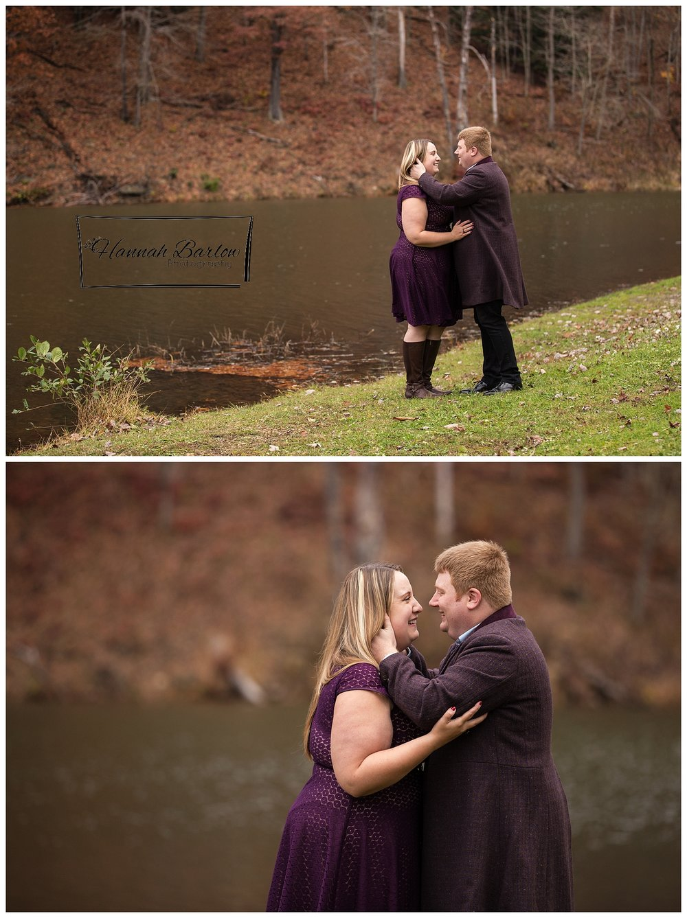 Tomlinson Run State Park Fall Engagement Photos