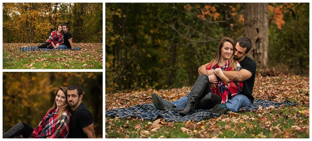 St. Clairsville, OH Engagement and Wedding Photography