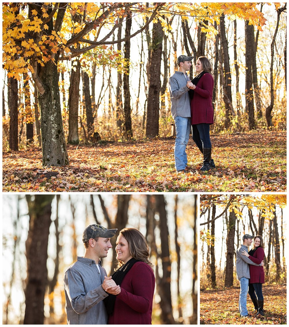 St. Clairsville, OH Fall Engagement and Wedding Photography