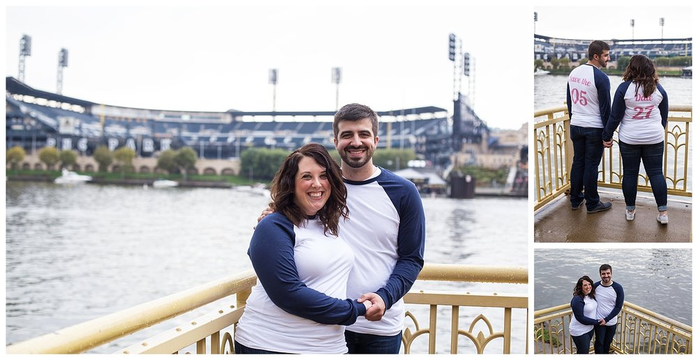Pittsburgh Pirates Engagement Session