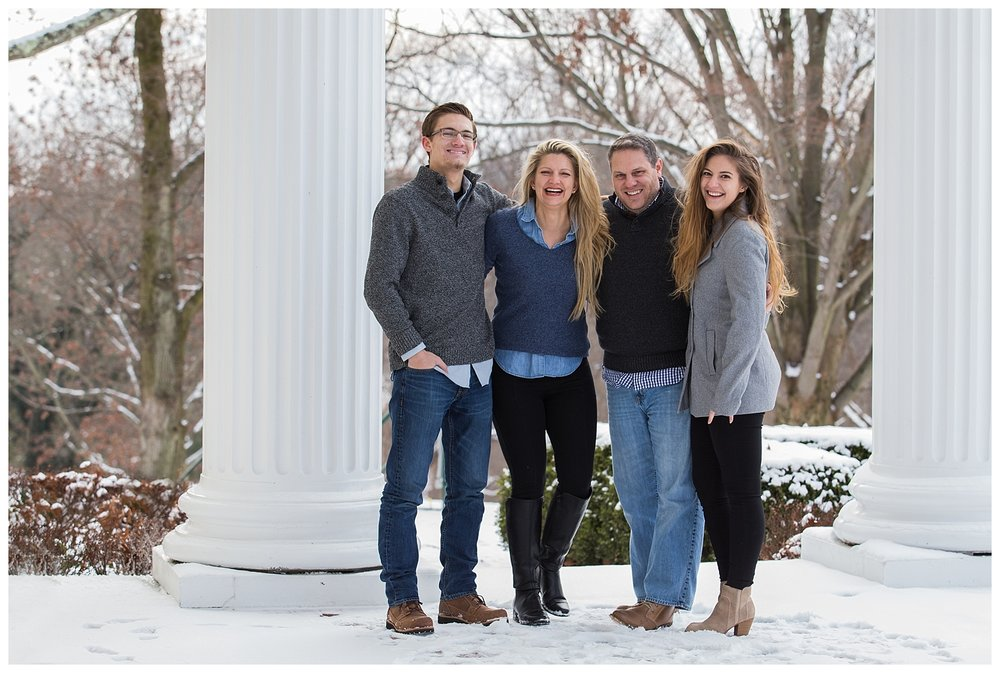 Oglebay Snow Family Session