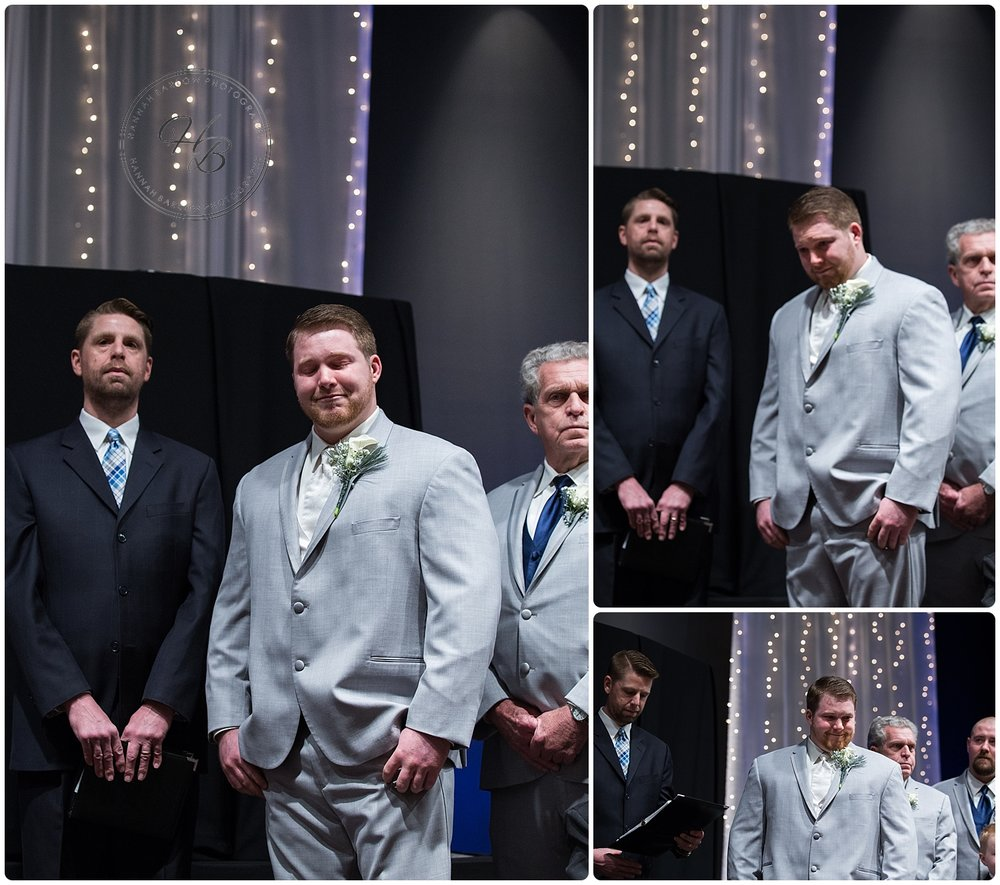 Winter Wedding Ceremony, Wellsburg WV