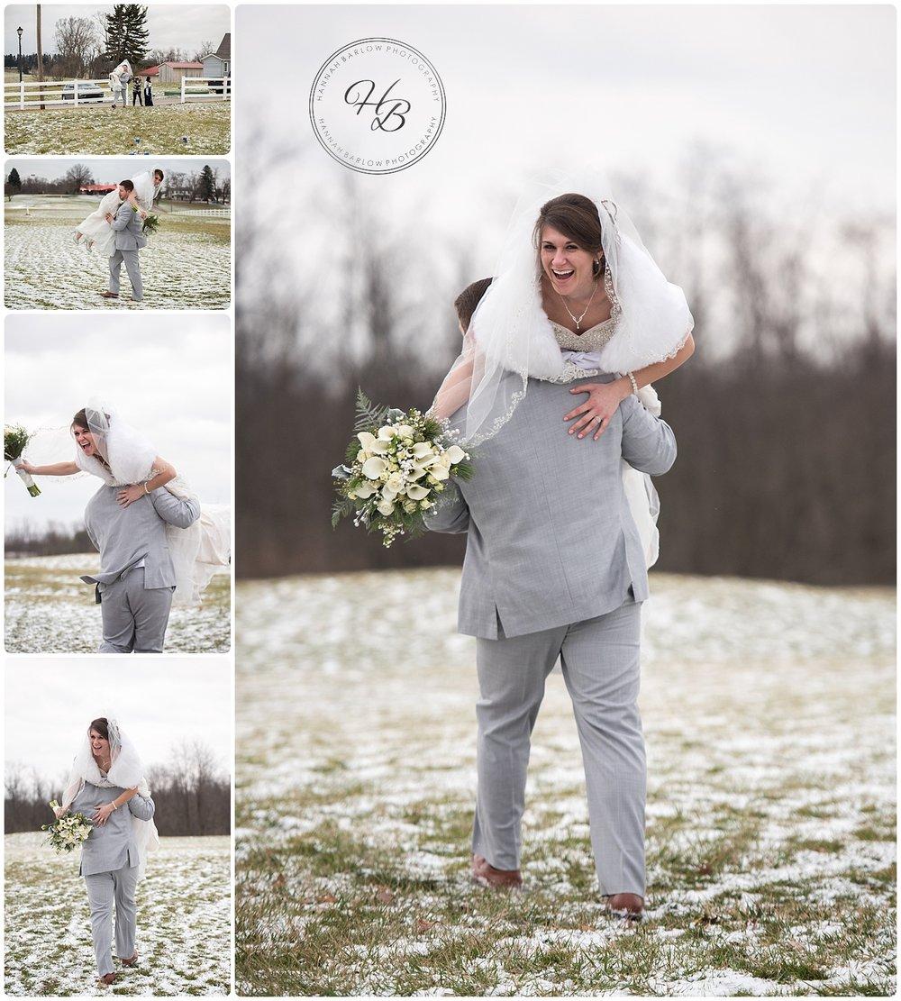 Winter Wedding Wellsburg WV