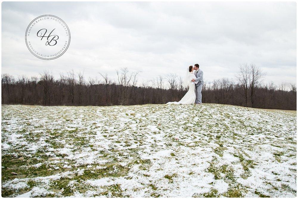 Wellsburg WV Winter Wedding Photographer