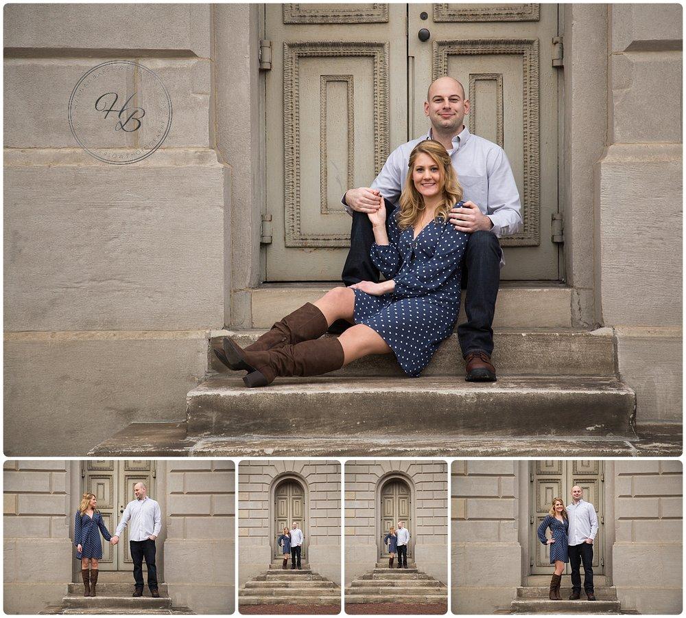 Wheeling, WV Engagement Photos