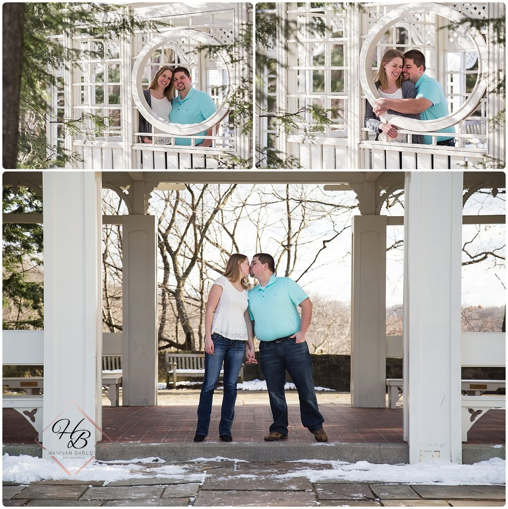 Youngstown, OH Engagement Photo Fellows Riverside Gardens
