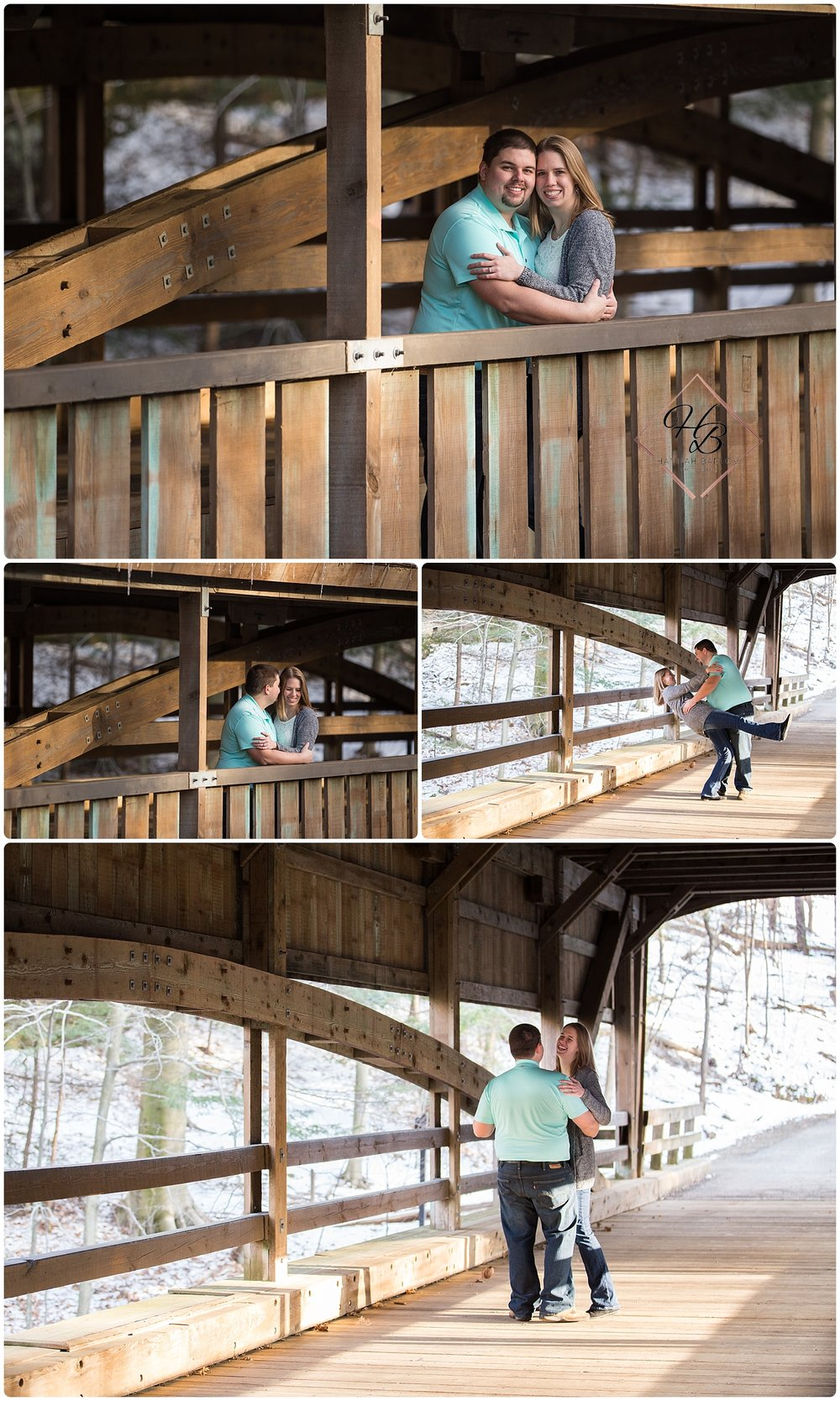 Mill Creek Metro Park Engagement Photo Youngstown, OH