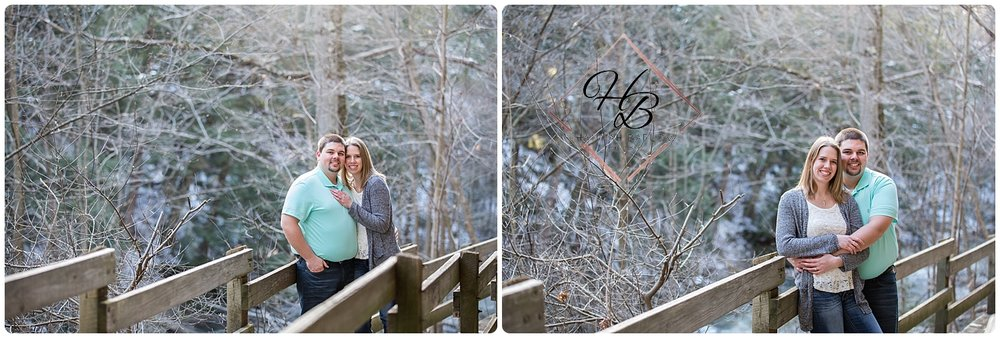 Mill Creek Metro Park Engagement Photo