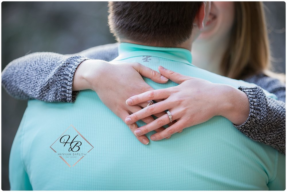 Youngstown, OH engagement ring photo