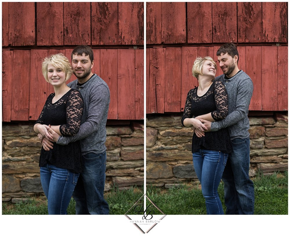Bethany, WV Engagement Session Red Barn