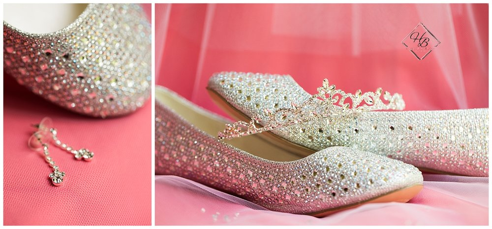Youngstown, OH Fairytale Wedding Shoes