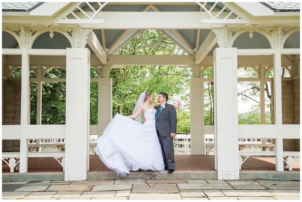 Youngstown, OH Fairytale Wedding Fellows Riverside Garden Bride Groom Photos