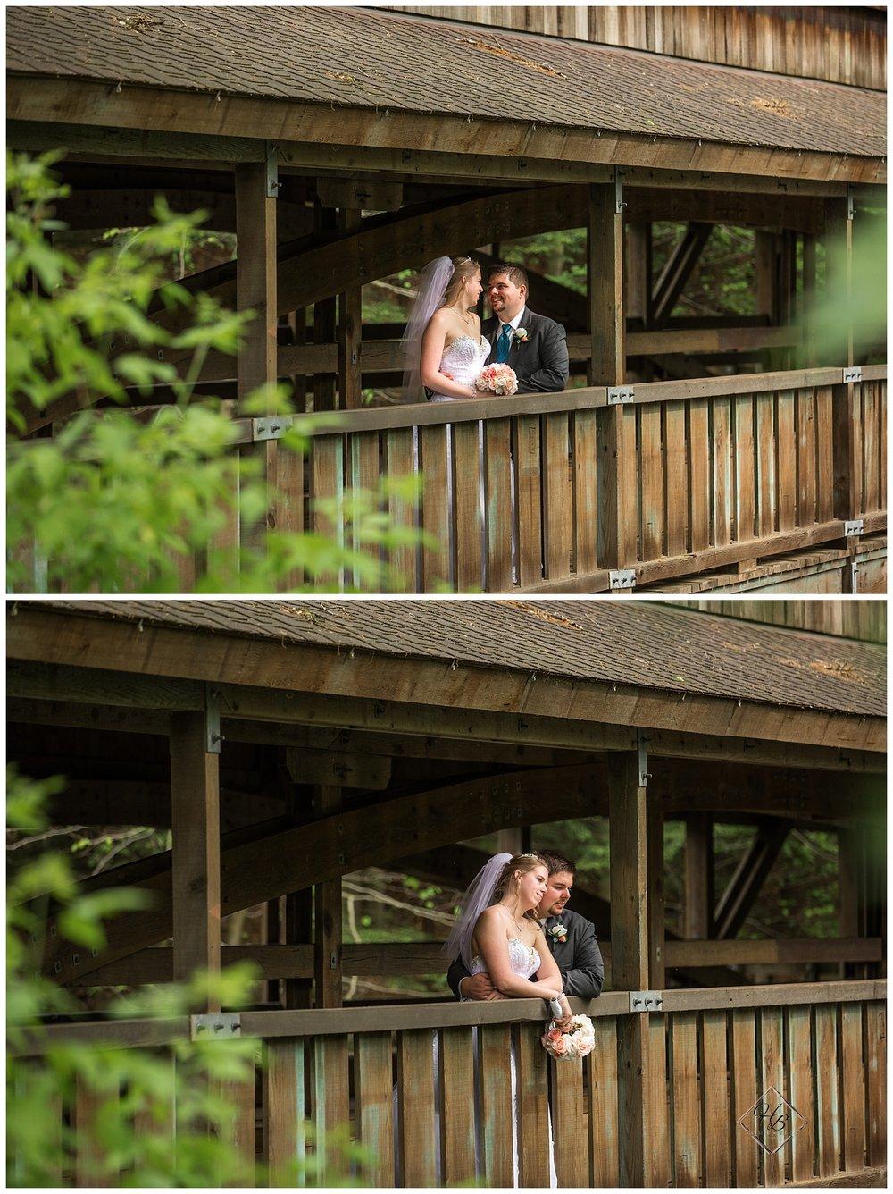Youngstown, OH Fairytale Wedding Fellows Lanterman's Mill Bride Groom Photos