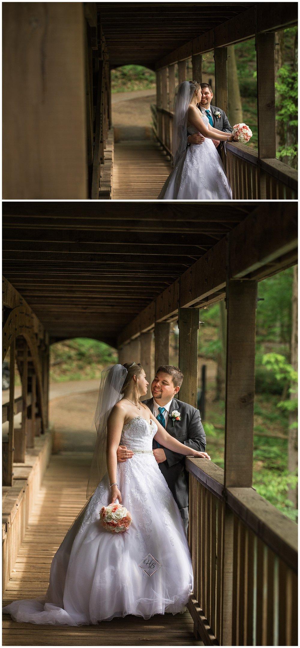Youngstown, OH Fairytale Wedding Lanterman's Mill Bride Groom Photos