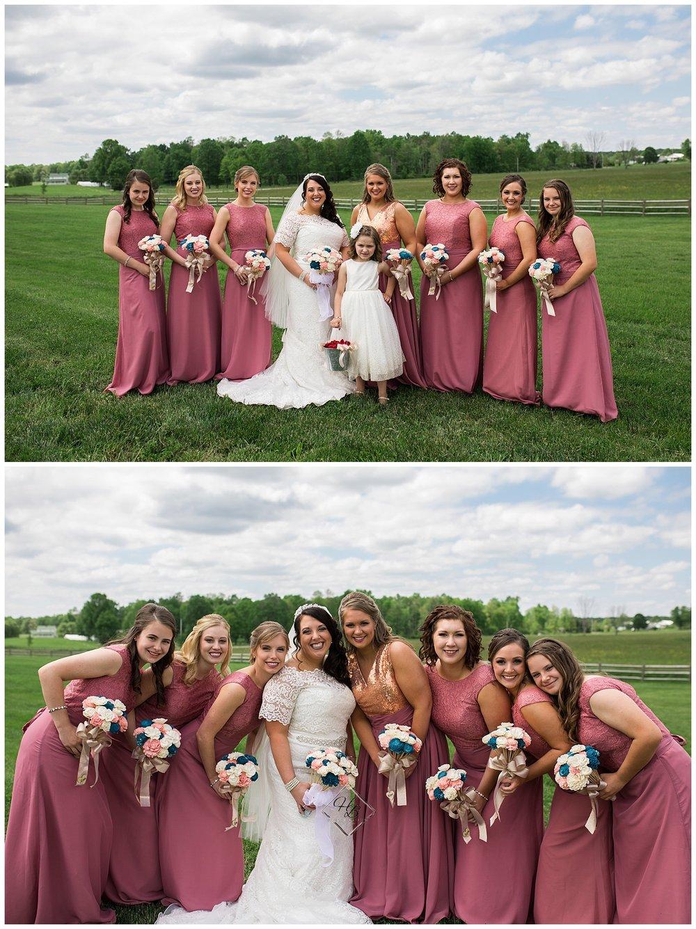 Irons Mills Vintage Wedding Bridesmaids