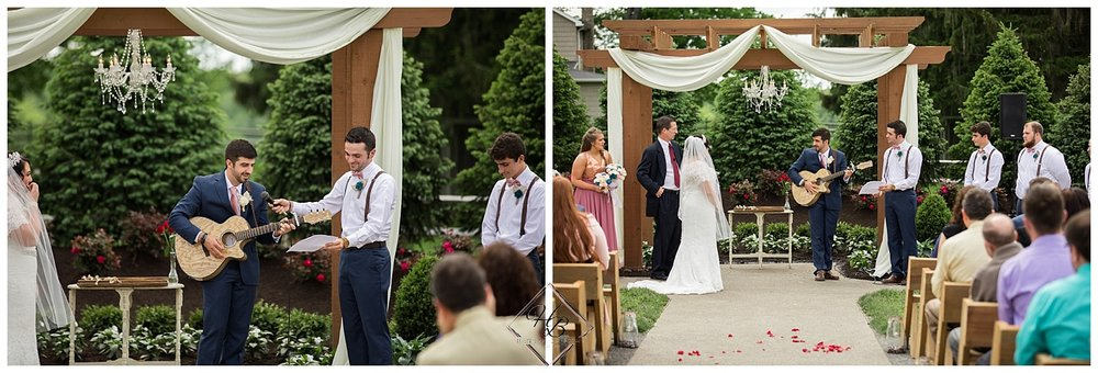 Irons Mills Vintage Wedding Ceremony
