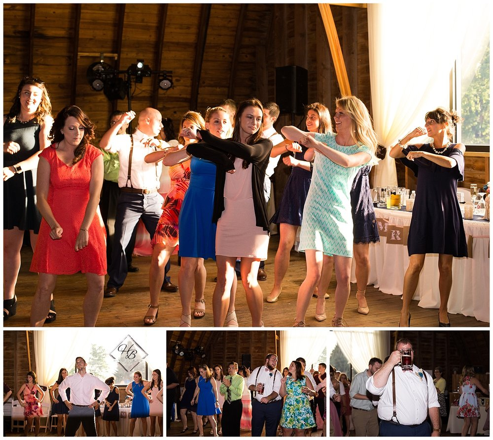 Irons Mills Vintage Wedding Reception Dancing