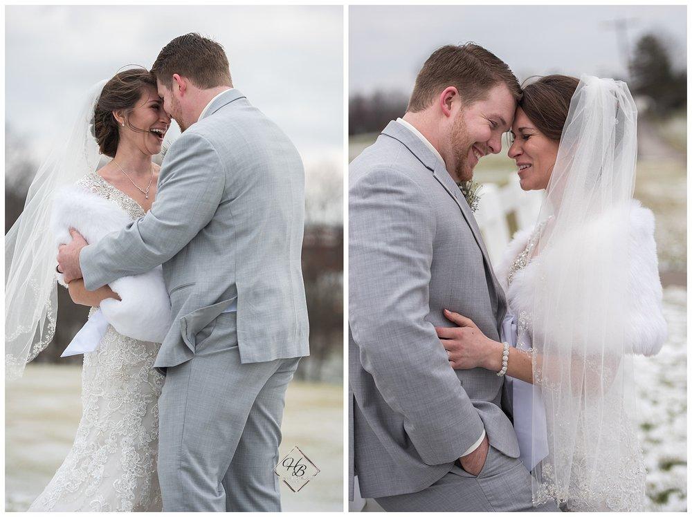 Wellsburg, WV Winter Wedding