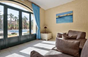 Lounge area -