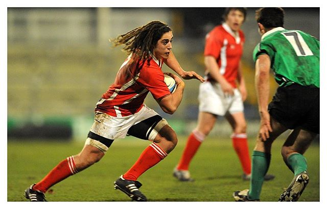 📆 10 Years Ago Today! A fresh faced @Jnavidi during a @WelshRugbyUnion Under 20 trial game with @carnegierugby XV