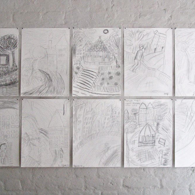 ARNOLD CIRCUS DRAWINGS
