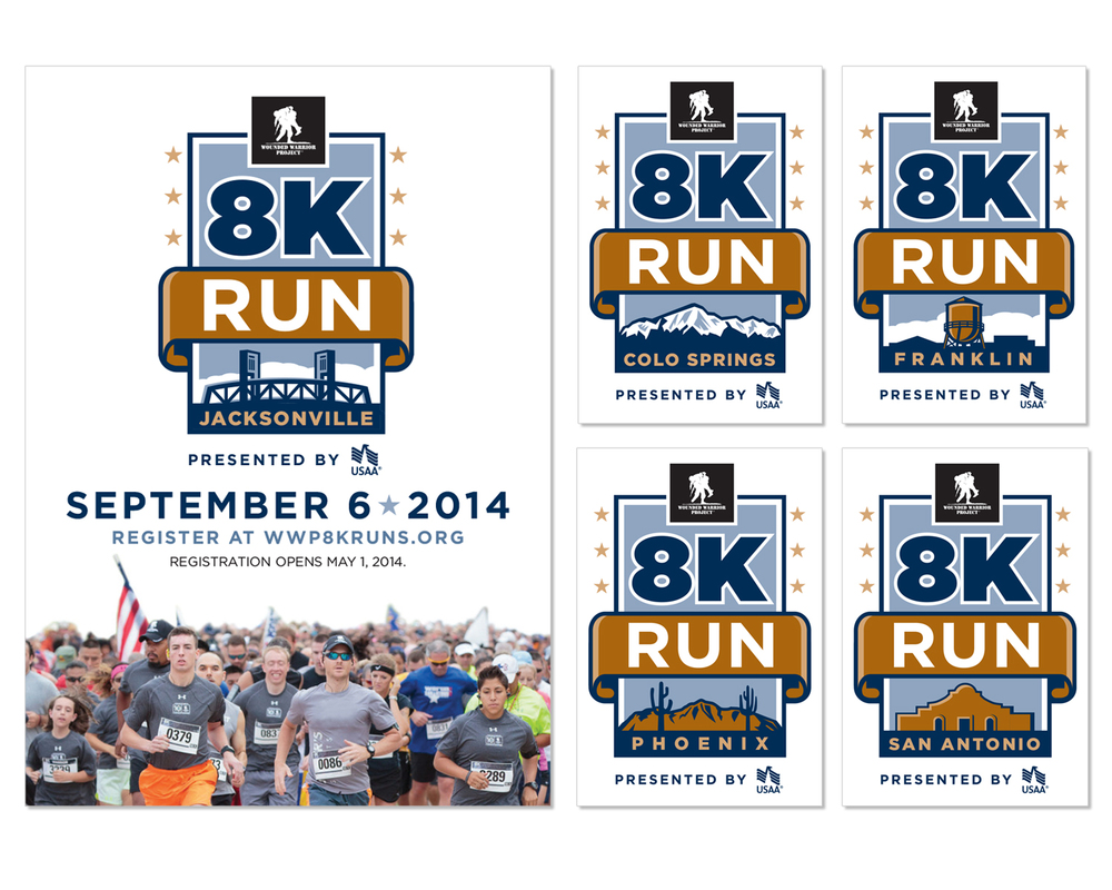 National 8K Run Re-brand and Campaign