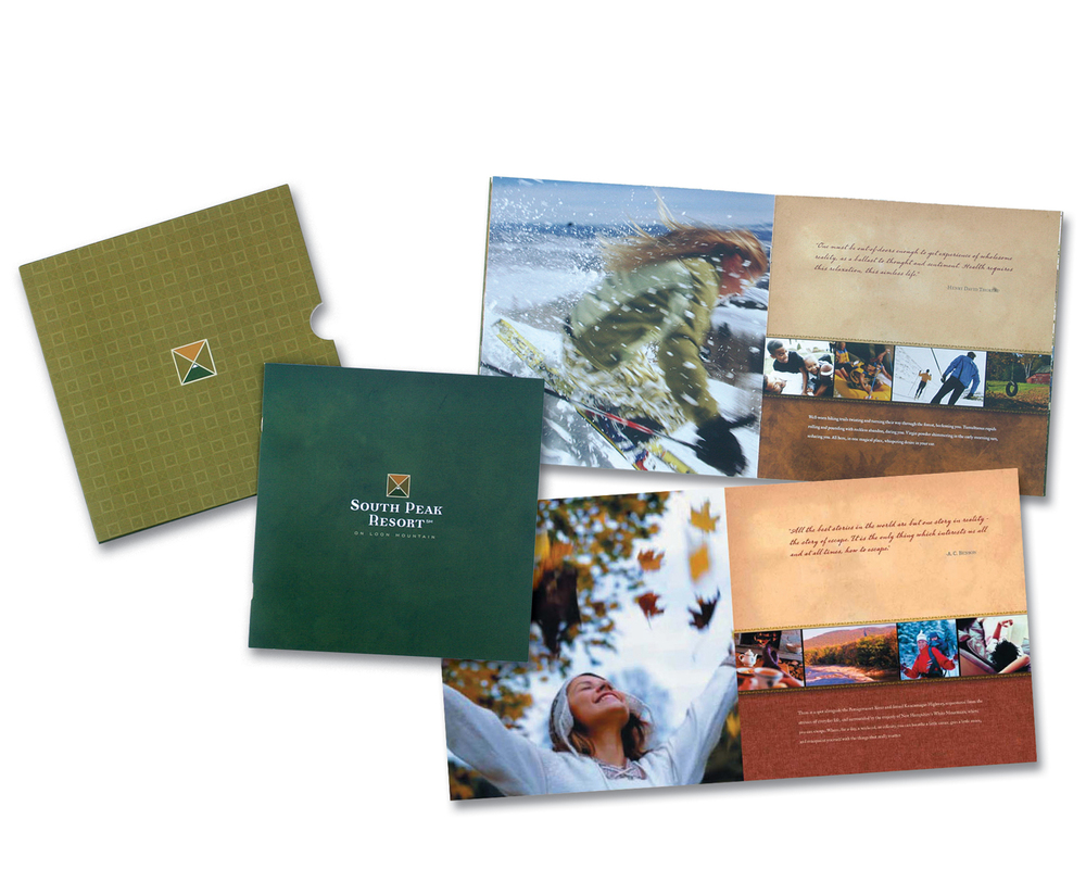 Complete Branding, Marketing, and Advertising for South Peak Resort at Loon Mountain, New Hampshire