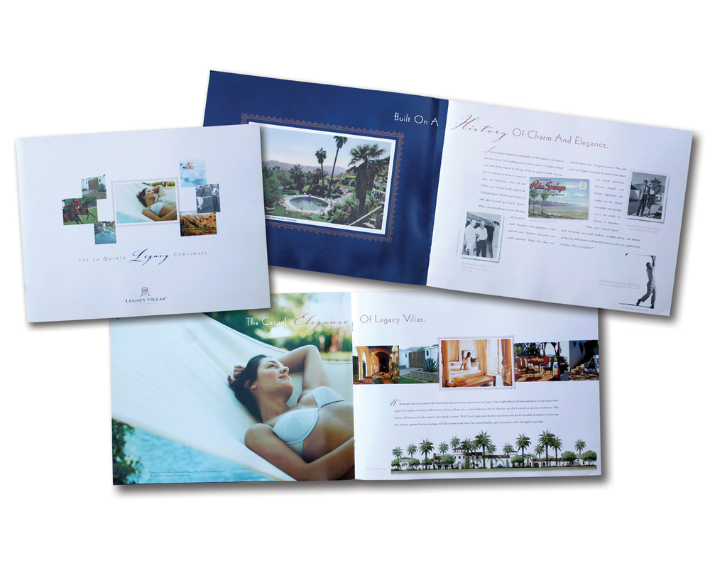 Complete Branding, Marketing, and Advertising for Legacy Villas in La Quinta, California