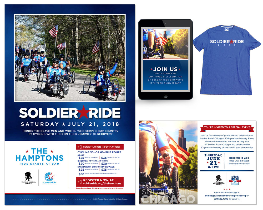 National Branding and Advertising for Soldier Ride® Campaign