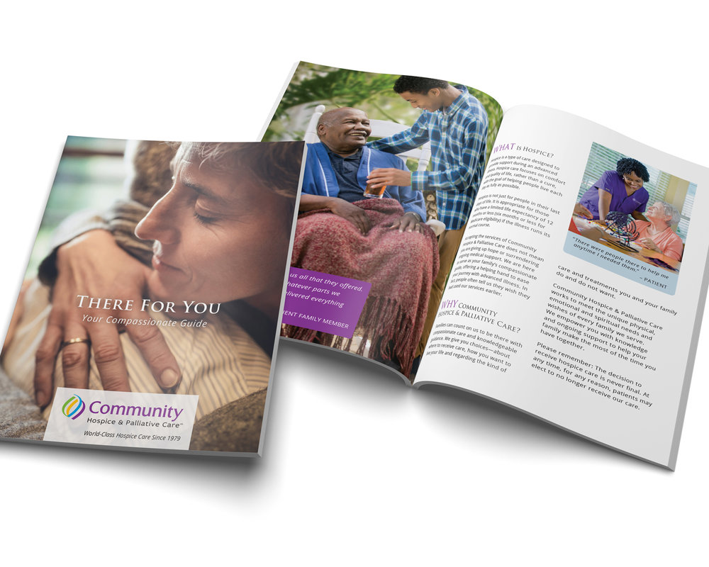 Community Hospice & Palliative Care Brochure