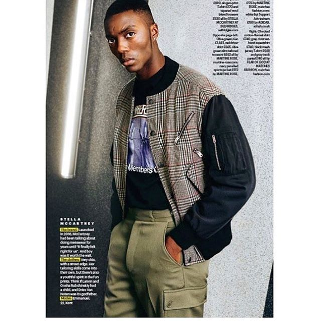 #Young #Bold & #Cool 😎 @eman_unaji looks amazing in his @shortlistmagazine feature for their 10th Anniversary issue. Well done bro 🇬🇧 #Youth #theyouthwillbetelevised outfit by @Stella mccartney