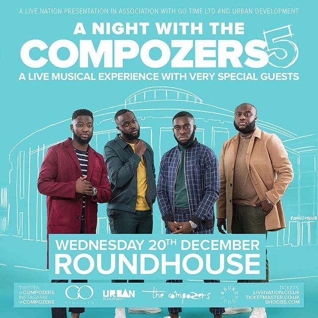 🥁 If you came to #myrunwayldn last month you know #thecompozers knowwww how to turn up! 💃🏾 They have since announced #ANightWithTheCompozers5 In The Legendary #Roundhouse. A Musical Experience Not To Be Missed. Ticket Link In @Compozers Bio Or Call  07949806892 for Physical Tickets (Balcony almost SOLD OUT) #ANWTC5 #SellOutTheHouse🇬🇧 #supportUk #ourguys