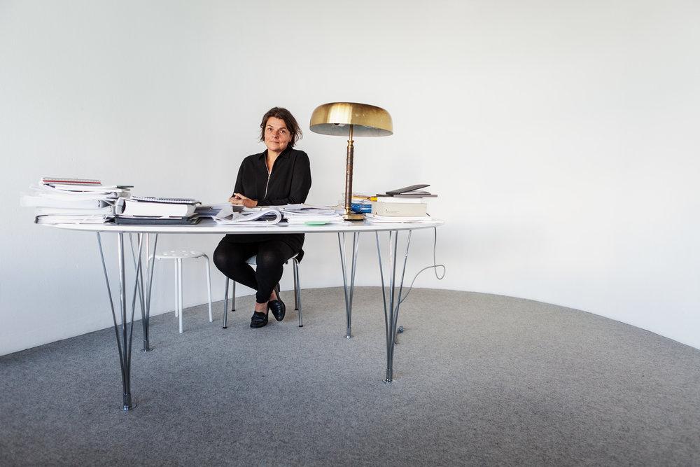 Karolina Keyzer, architect and owner of architect firm OKK