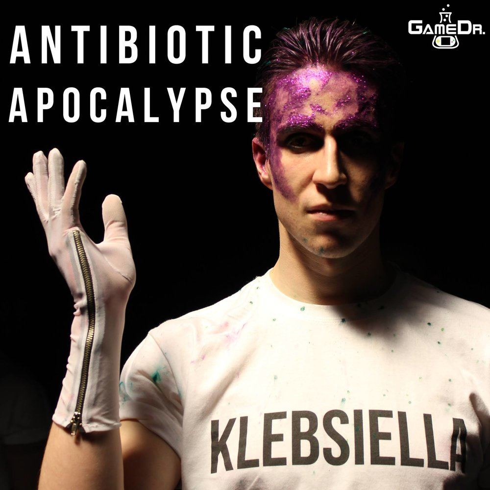 Antibiotic-resistant Klebsiella from Antibiotic Apocalypse film.