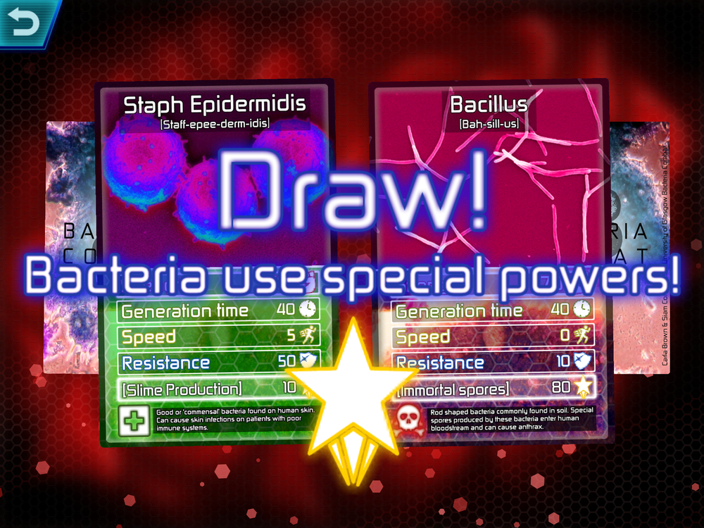 Bacteria Combat multiplayer gameplay