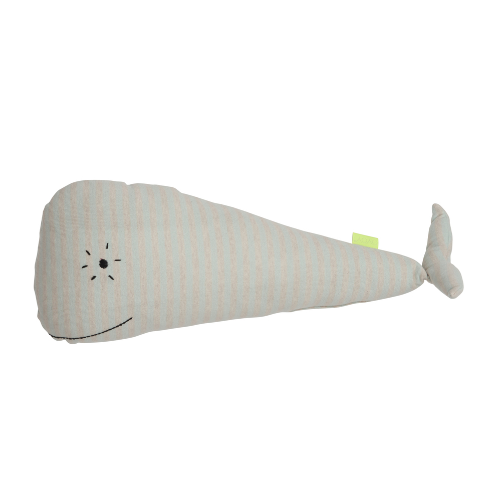 "The whale ""Moby"" cushion"