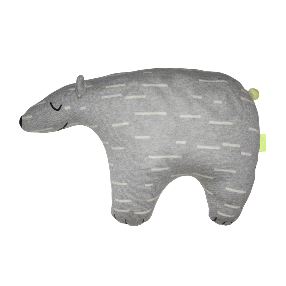 "Polar bear ""Knut"" cushion"