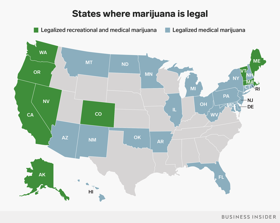 But in 1996, things began to change when California became the first state to approve the use of marijuana for medical purposes, ending its 59-year reign as an illicit substance with no medical value. Recreational marijuana is now legal in nine states and medical marijuana is legal in 30 states. And new research is taking place that would have seemed impossible just a few years ago.