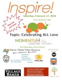 FEBRUARY INSPIRE! CELEBRATES ALL LOVE